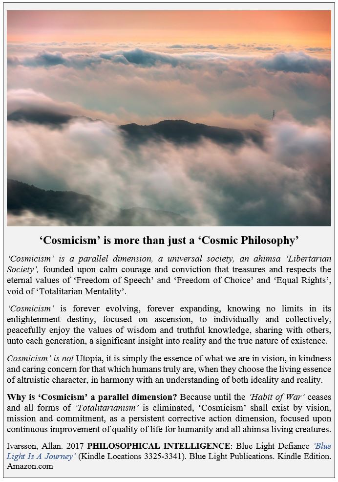 COSMICISM PARALLEL DIMENSION POSTER 2017 IMAGE 001