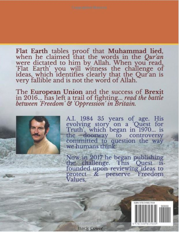 FLAT EARTH 240917 KINDLE & PAPERBACK 002 BACK
