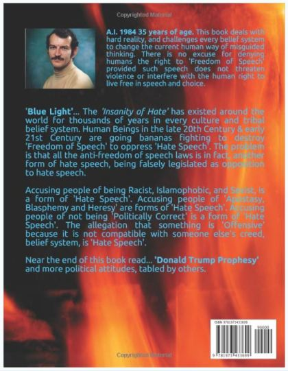 INSANITY OF HATE PAPERBACK BACK COVER 031217 PRICE