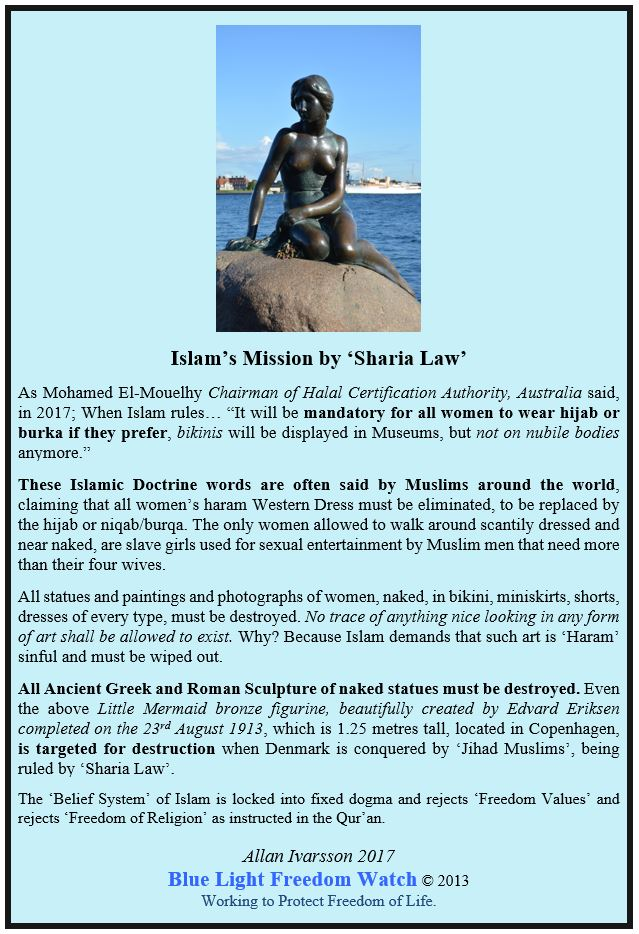 ISLAM'S MISSION BY SHARIA LAW POSTER 2017 IMAGE 003