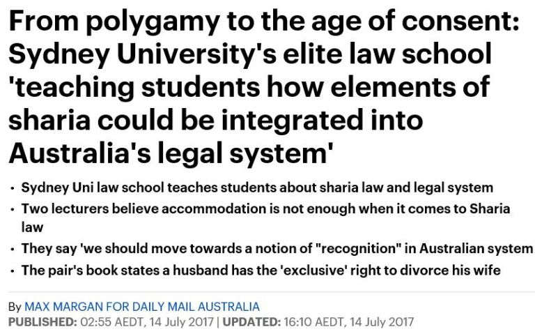 SHARIA LAW AUSTRALIA 2017 JULY 001