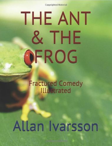 THE ANT & THE FROG PAPERBACK FRONT COVER 270318 001