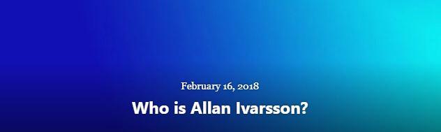 BLOG WHO IS AI I FEB 16 2018