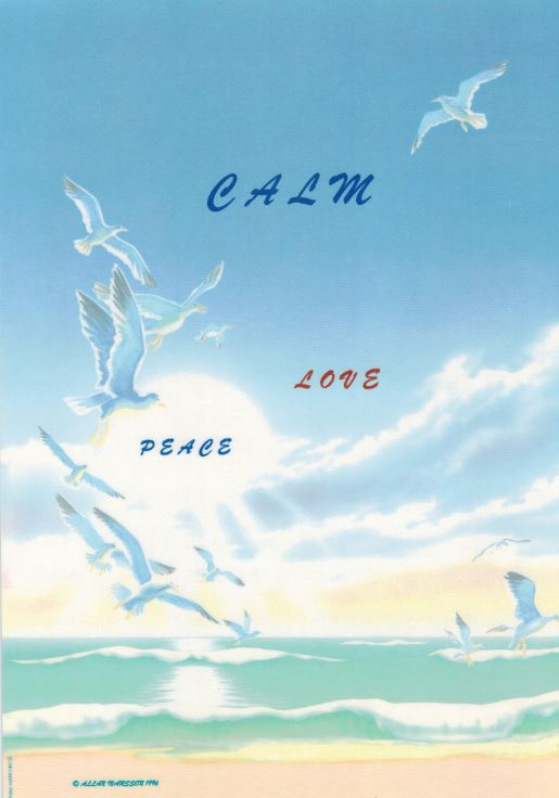 Calm Love Peace 1996 Poster image
