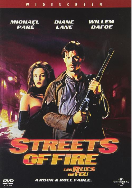 STREETS OF FIRE 1984 001 DVD COVER AMAZON