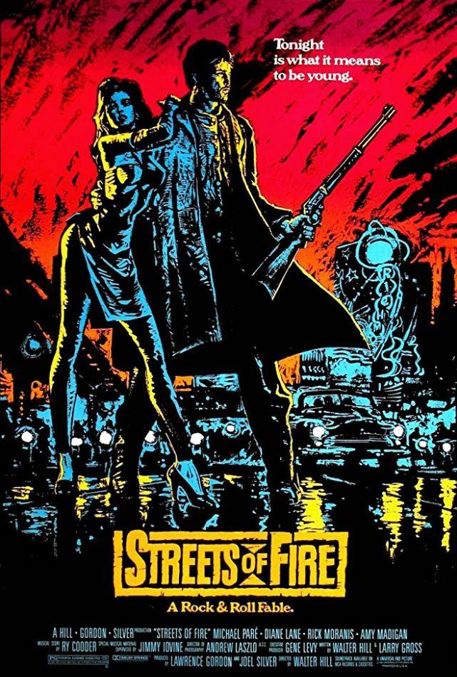 STREETS OF FIRE 1984 001 ORIGINAL ADVERTISEMENT