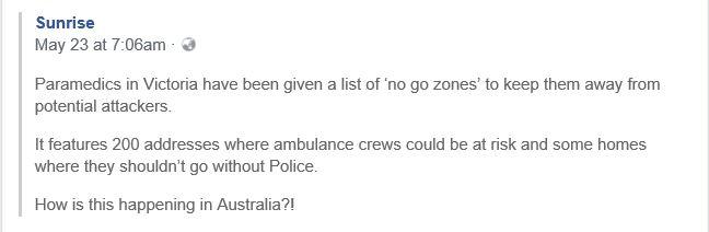 AUSTRALIA NO GO ZONES 003 2018