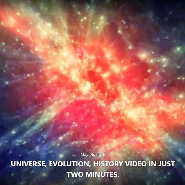 BLOG UNIVERSE EVOLUTION MAY 26 2018