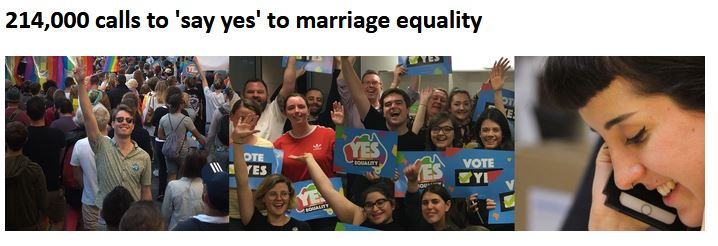 GAY MARRIAGE - GETUP 170917