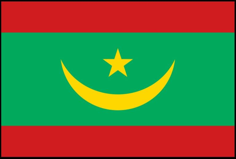 MAURITANIA NEW FLAG 2017