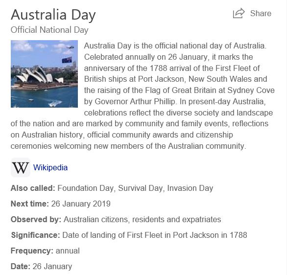 BING IMAGE AUSTRALIA DAY STATEMENT SEP 2018