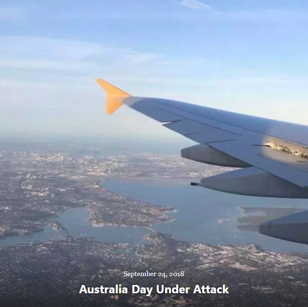 BLOG AUSTRALIA DAY UNDER ATTACK SEP 24 2018