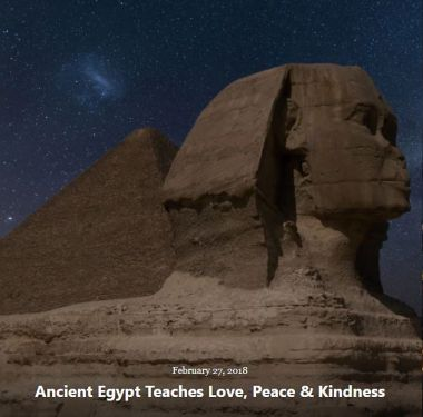 BLOG ANCIENT EGYPT TEACHES LOVE FEB 27 2018