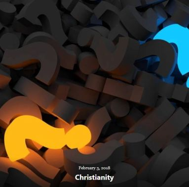 BLOG CHRISTIANITY FEB 3 2018