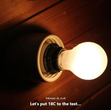 BLOG LETS PUT 18C TO TEST FEB 18 2018