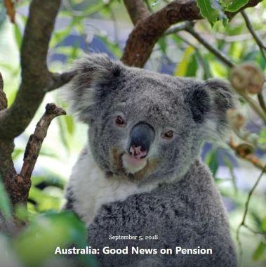 BLOG AUSTRALIA GOOD NEWS on PENSION SEP 5 2018