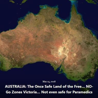 BLOG AUSTRALIA ONCE SAFE LAND NO-GO ZONES PARAMEDICS MAY 25 2018