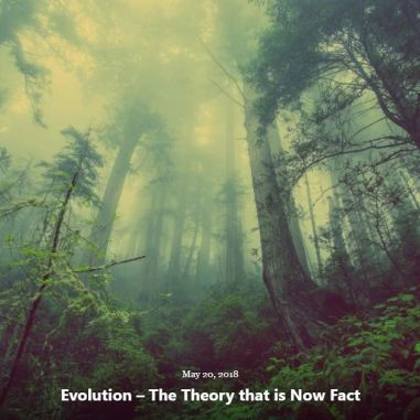 BLOG EVOLUTION NOW FACT MAY 20 2018