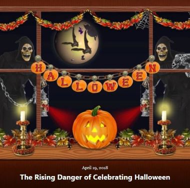BLOG RISING DANGER HALLOWEEN APRIL 19 2018