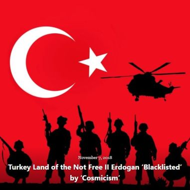 BLOG TURKEY LAND NOT FREE II NOV 7 2018