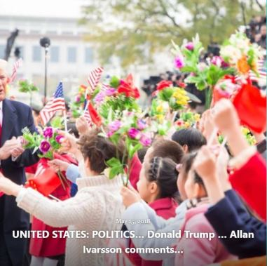 BLOG UNITED STATES DONALD TRUMP MAY 15 2018