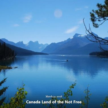 BLOG CANADA LAND NOT FREE MAR 31 2018