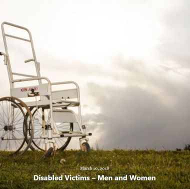 BLOG DISABLED VICTIMS M and W MAR 10 2018