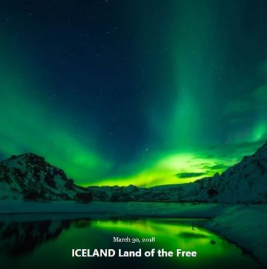 BLOG ICELAND Land of the Free MARCH 30 2018