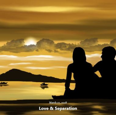 BLOG LOVE SEPARATION MARCH 27 2018