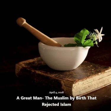 BLOG MUSLIM BY BIRTH REJECTED ISLAM APR 4 2018