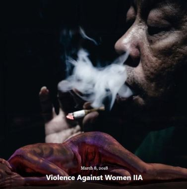 BLOG VIOLENCE WOMEN PART IIA MAR 8 2018