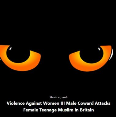 BLOG VIOLENCE WOMEN PART III MAR 12 2018