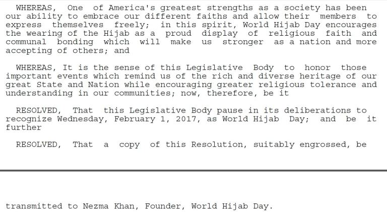 HIJAB DAY SENATE RESOLUTION 2017 PAGE 3
