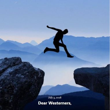 BLOG DEAR WESTERNERS JULY 3 2018
