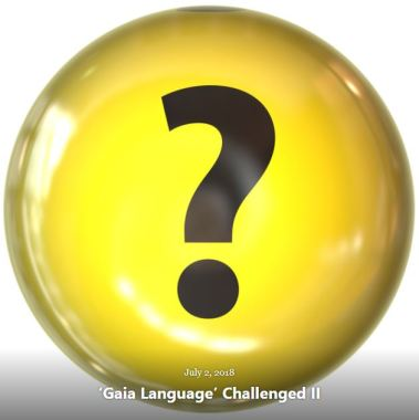 BLOG GAIA LANGUAGE CHALLENGED II JULY 2 2018