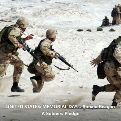 BLOG UNITED STATES MEMORIAL DAY REAGAN MAY 29 2018