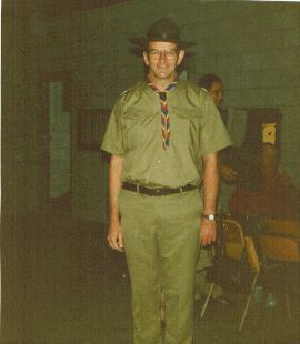 Allan Ivarsson Scout Group Leader Investiture 1991 003