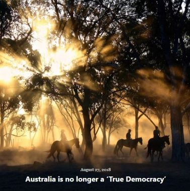 BLOG AUSTRALIA DEMOCRACY AUG 27 2018