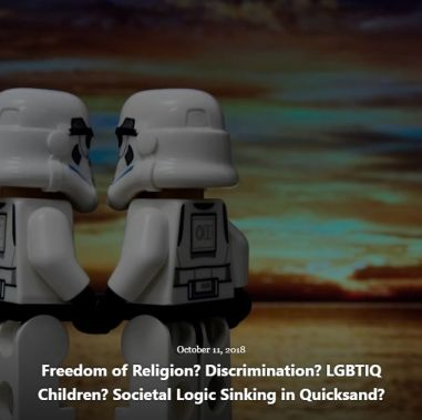 BLOG FREEDOM of RELIGION DISCRIMINATION OCT 11 2018