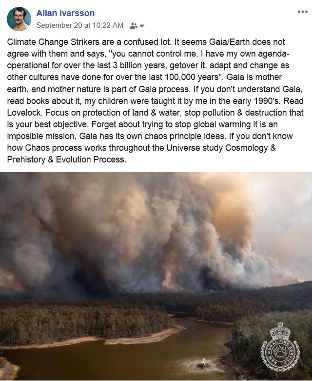 CLIMATE CHANGE FIRE 001 2019