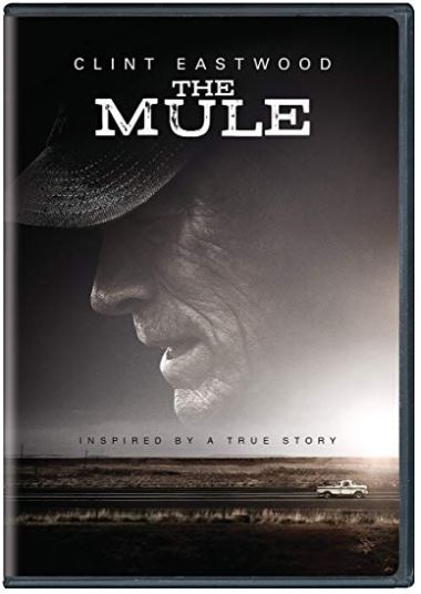 CLINT EASTWOOD DVD THE MULE 2019