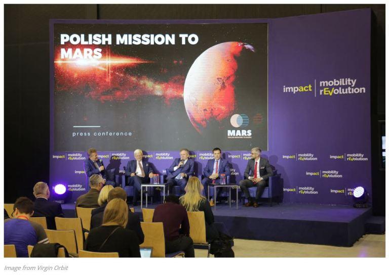 VIRGIN ORBIT POLISH MISSION MARS 2019
