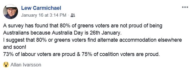 AUSTRALIA DAY FB JAN 16 2019