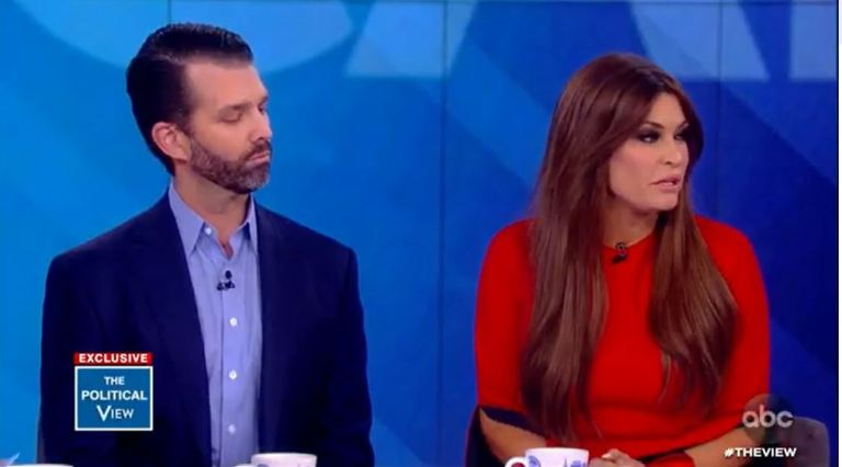 TRUMP JR and KIMBERLY GUILFOYLE 2019
