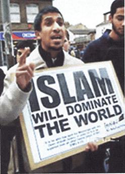 BRITAIN MUSLIM PROTEST 2010 001