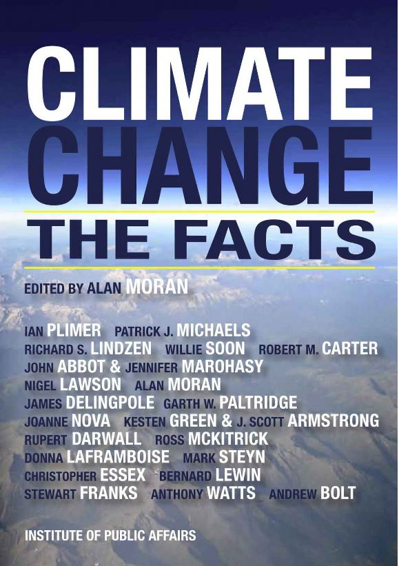 BOOK CLIMATE CHANGE THE FACTS KINDLE Published 2015