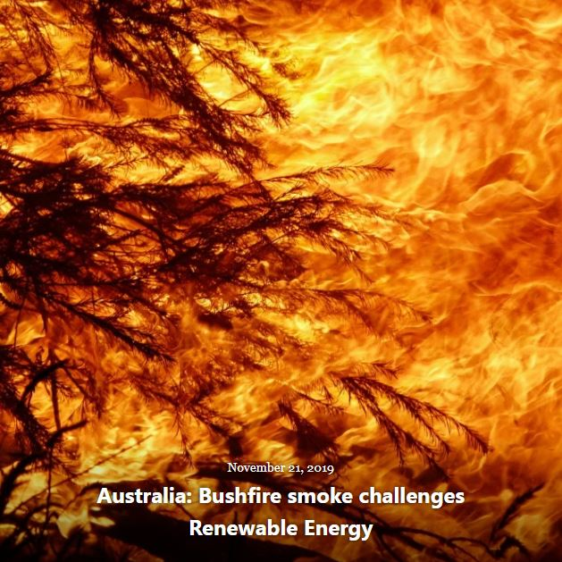 BLOG AUSTRALIA BUSHFIRE RENEWABLE ENERGY NOV 21 2019