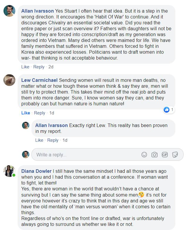 COMBAT WOMEN COMMENTS ON FB FEB 2020 002