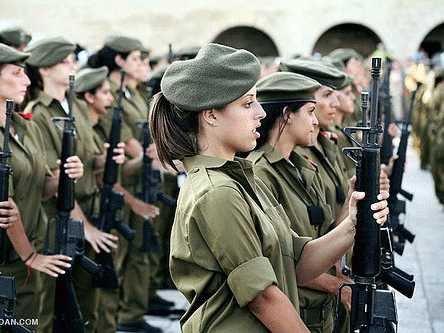 ISRAEL COMBAT WOMEN 001