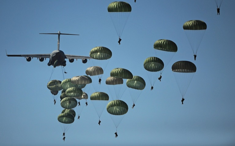 parachute TRAINING US AIRFORCE 001